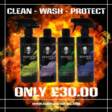 CLEAN - WASH - PROTECT